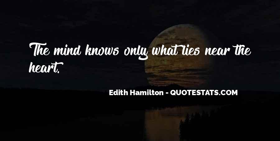 The Heart Knows Quotes #381745