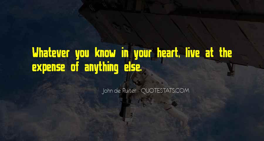 The Heart Knows Quotes #442588