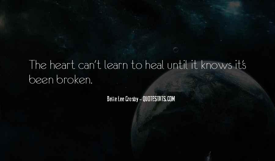 The Heart Knows Quotes #504779
