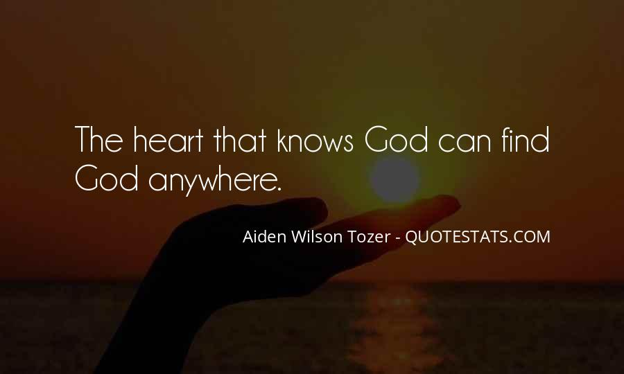 The Heart Knows Quotes #511419
