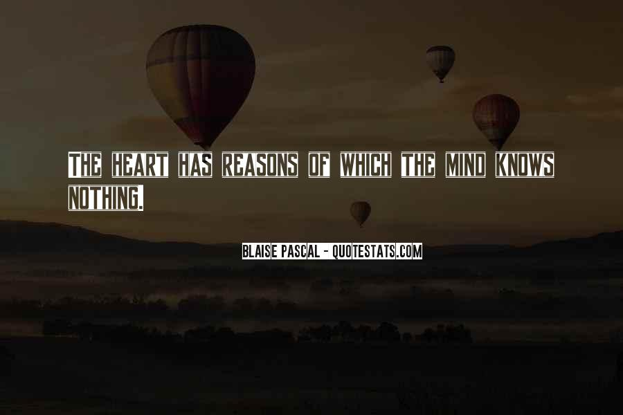 The Heart Knows Quotes #65455