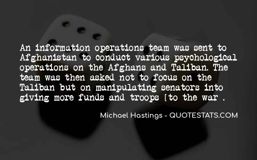 Quotes About Michael Hastings #937362