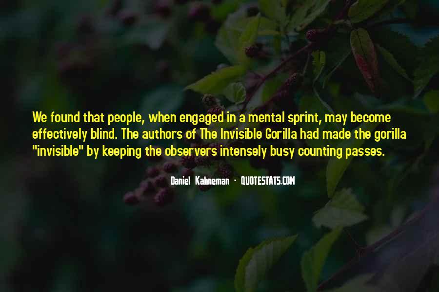 The Invisible Gorilla Quotes #29722