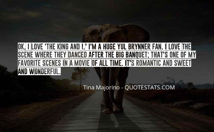 The King And I Love Quotes #311877