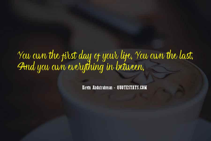 The Last Day Of My Life Quotes #20212
