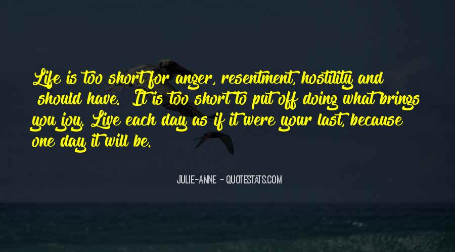The Last Day Of My Life Quotes #218894