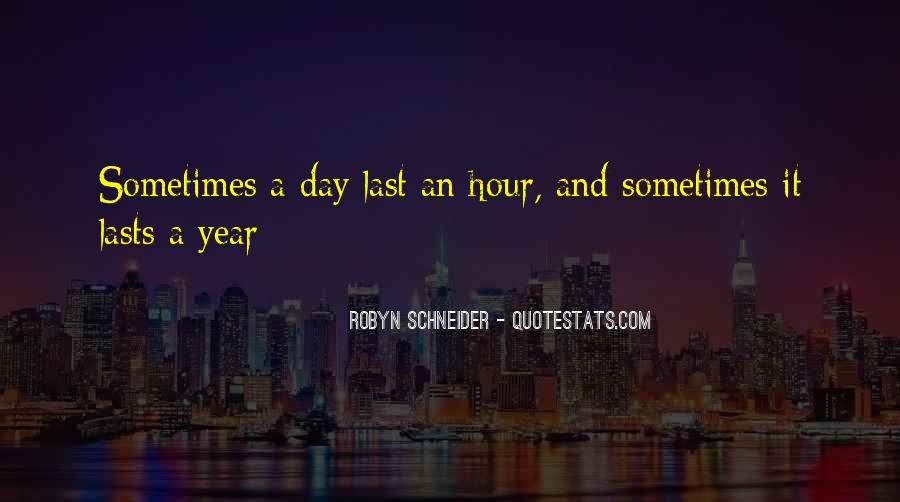 The Last Day Of The Year Quotes #1386868