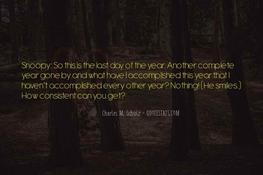 The Last Day Of The Year Quotes #1579902