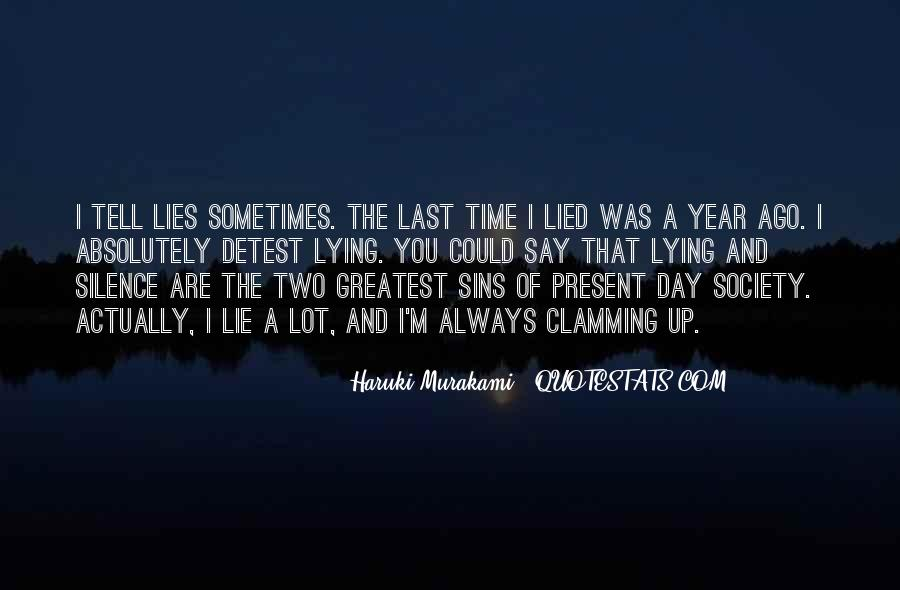 The Last Day Of The Year Quotes #481371