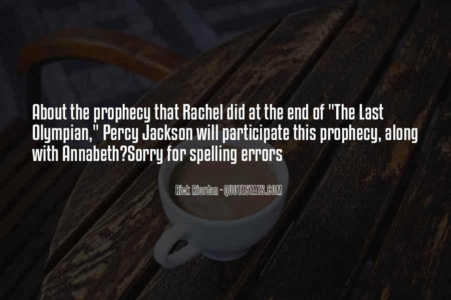 The Last Olympian Annabeth Quotes #645156