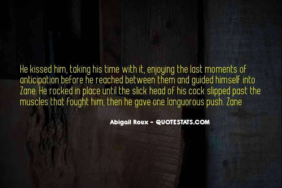 The Last Time We Kissed Quotes #747589
