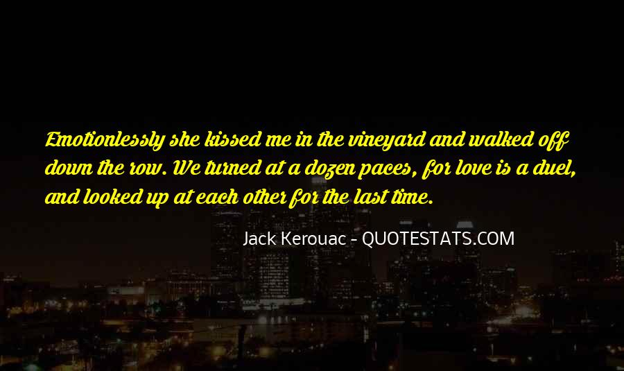 The Last Time We Kissed Quotes #936535