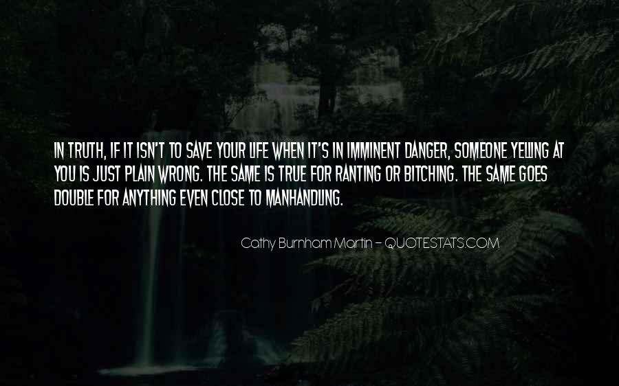 The Life You Save Quotes #1151499
