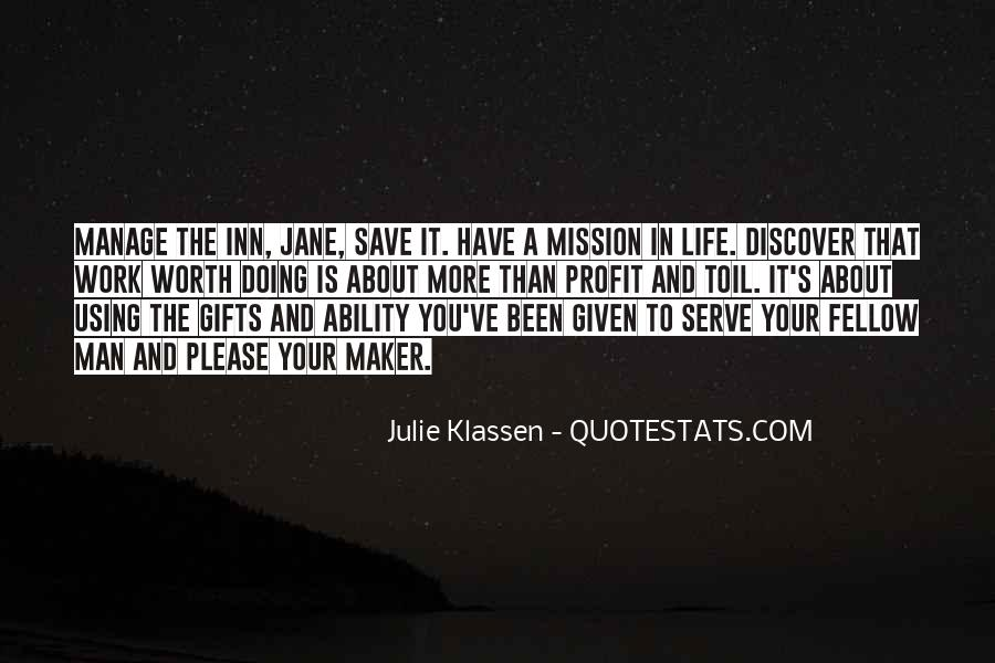 The Life You Save Quotes #1212065