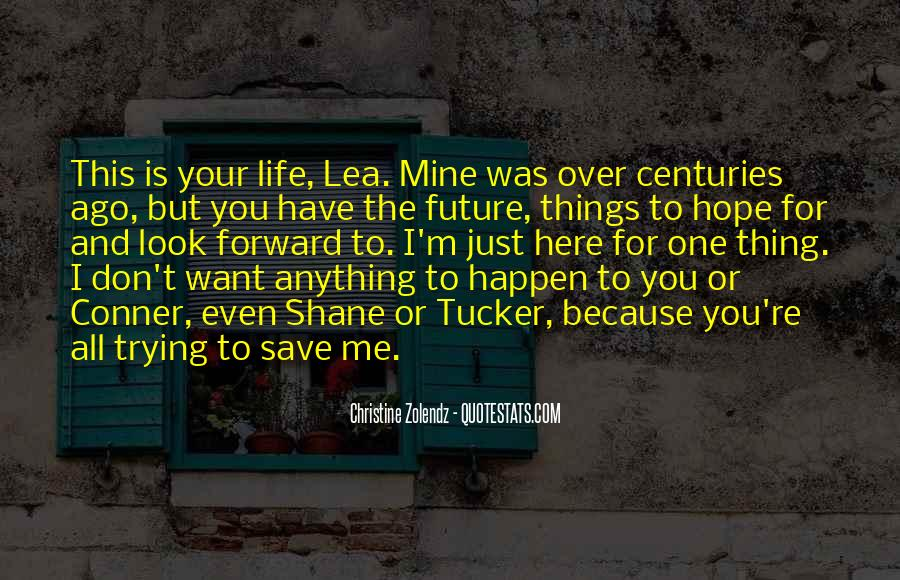 The Life You Save Quotes #250436