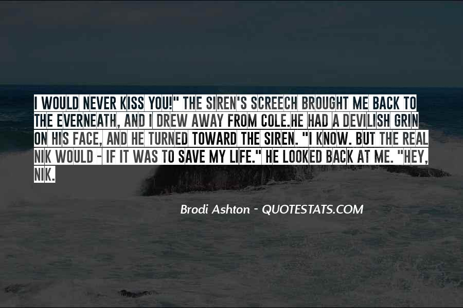 The Life You Save Quotes #526521