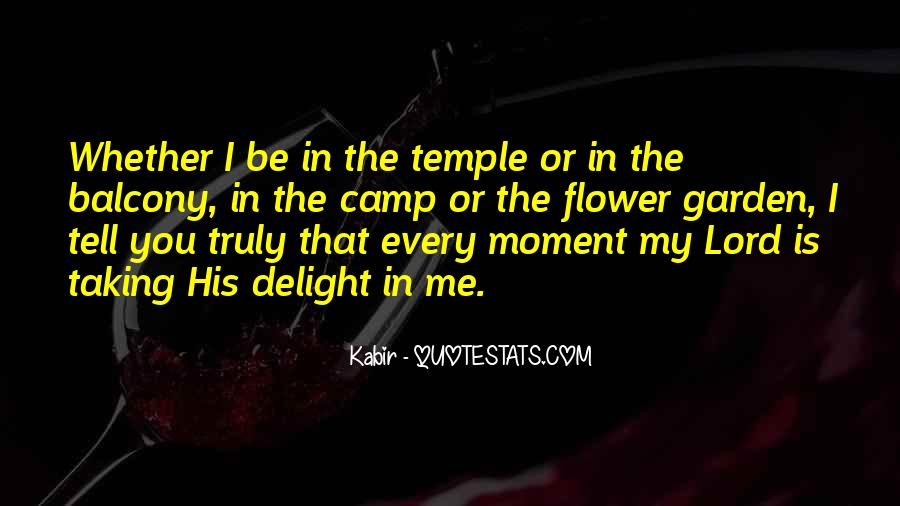 The Lord Is My Quotes #118216