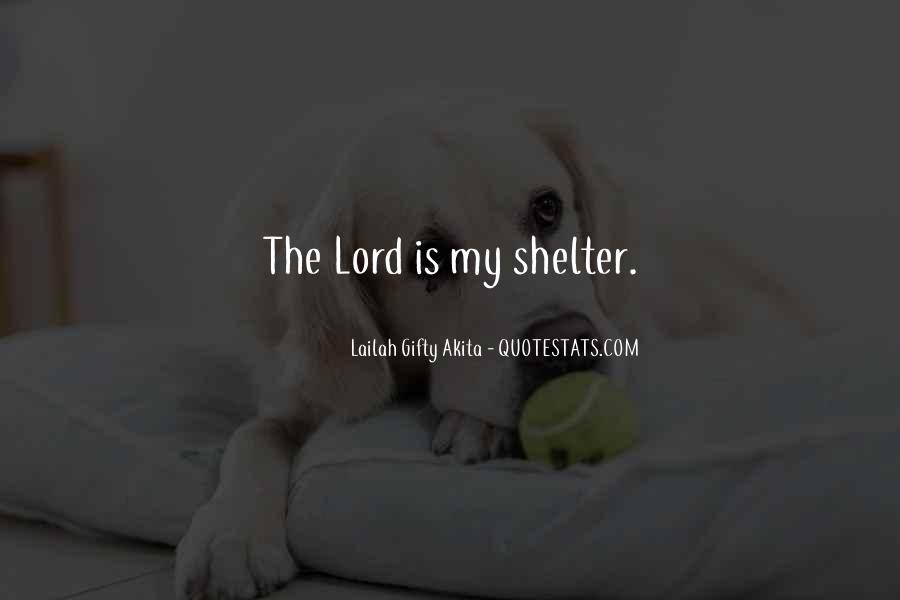 The Lord Is My Quotes #146857