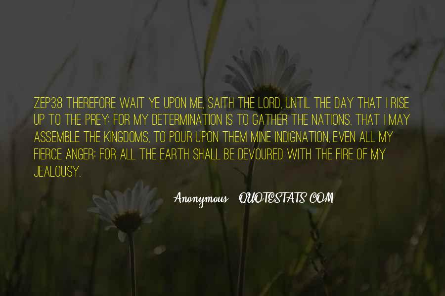 The Lord Is My Quotes #217270