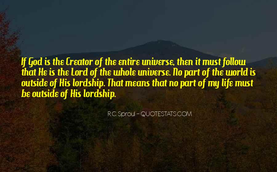 The Lord Is My Quotes #222154