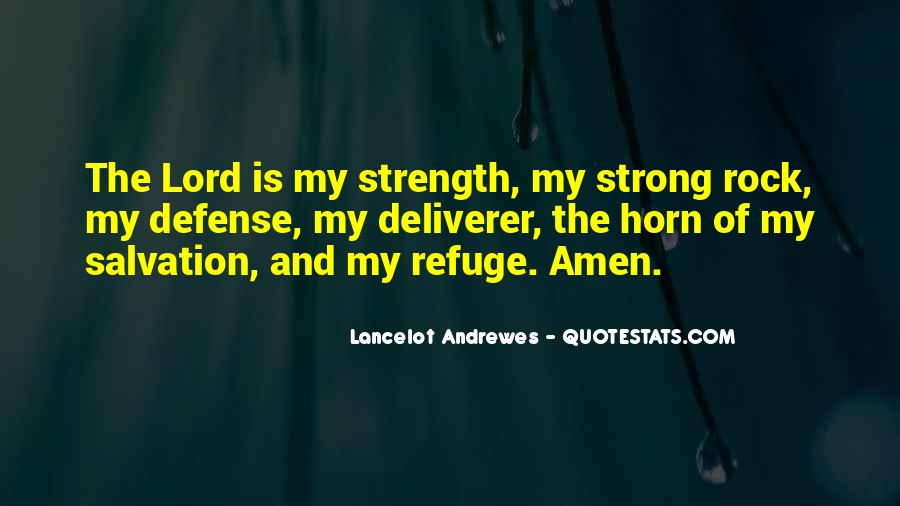 The Lord Is My Quotes #236292
