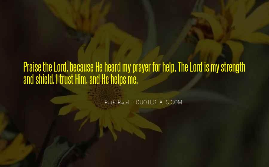 The Lord Is My Quotes #344108