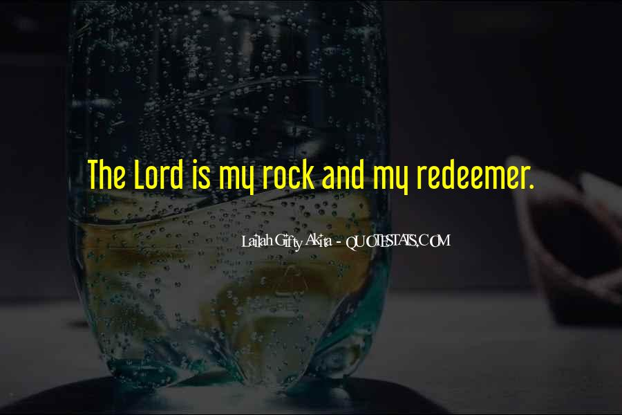 The Lord Is My Quotes #348440