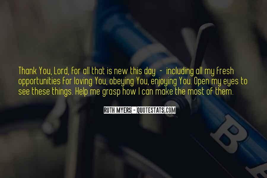 The Lord Is My Quotes #362624