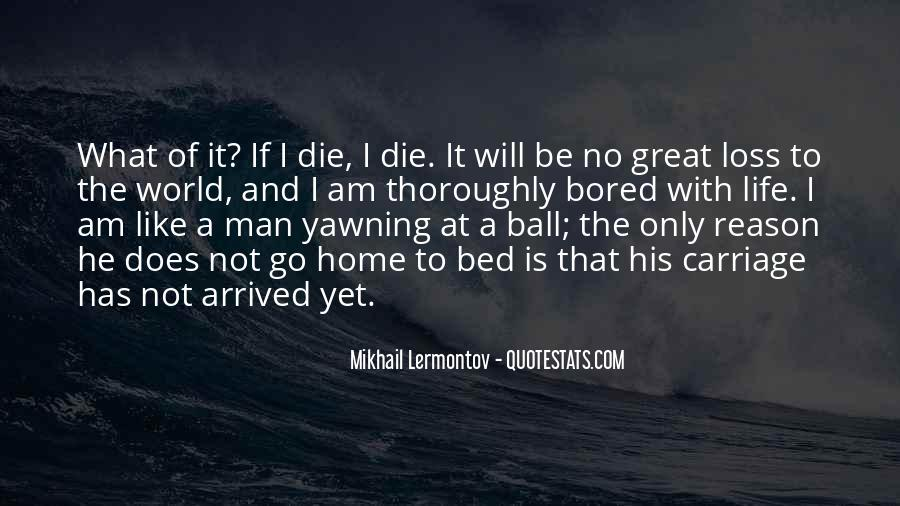 The Loss Of A Great Man Quotes #827422