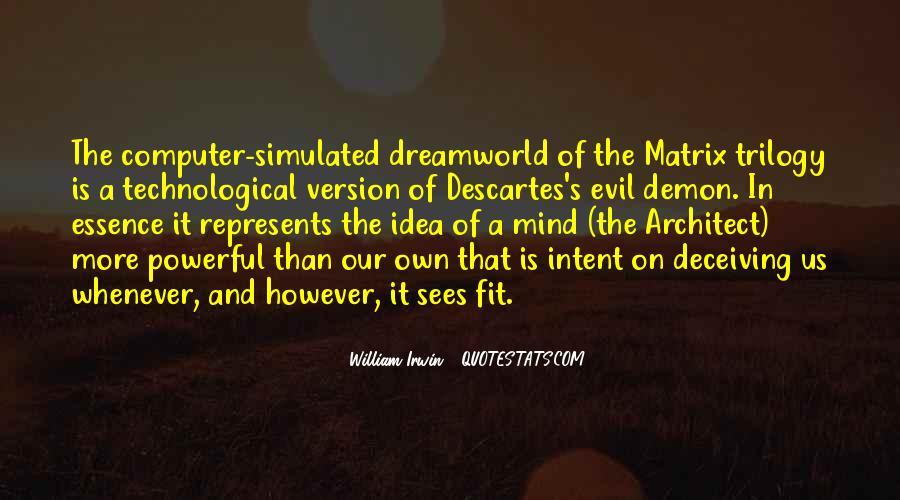 The Matrix Trilogy Quotes #1143416