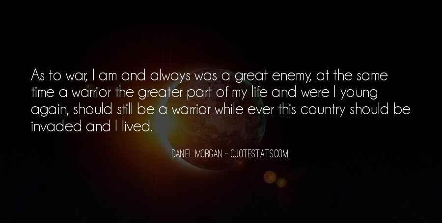 Quotes About Daniel Morgan #10828