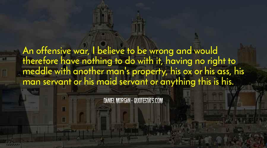 Quotes About Daniel Morgan #155297