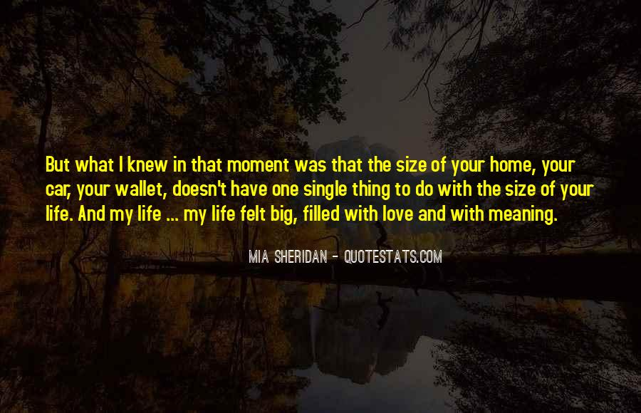 The Moment I Knew Quotes #1000739