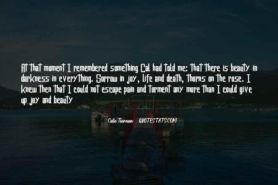 The Moment I Knew Quotes #102734