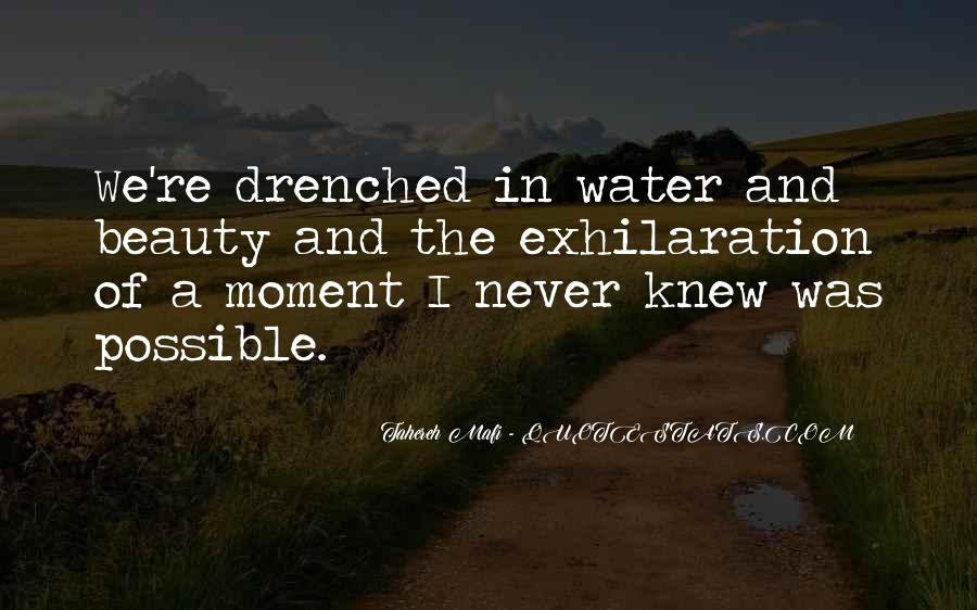 The Moment I Knew Quotes #460330