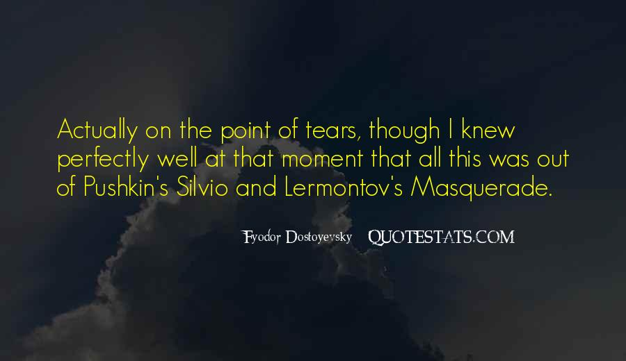 The Moment I Knew Quotes #50595