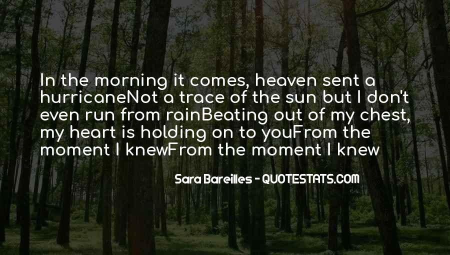 The Moment I Knew Quotes #522414