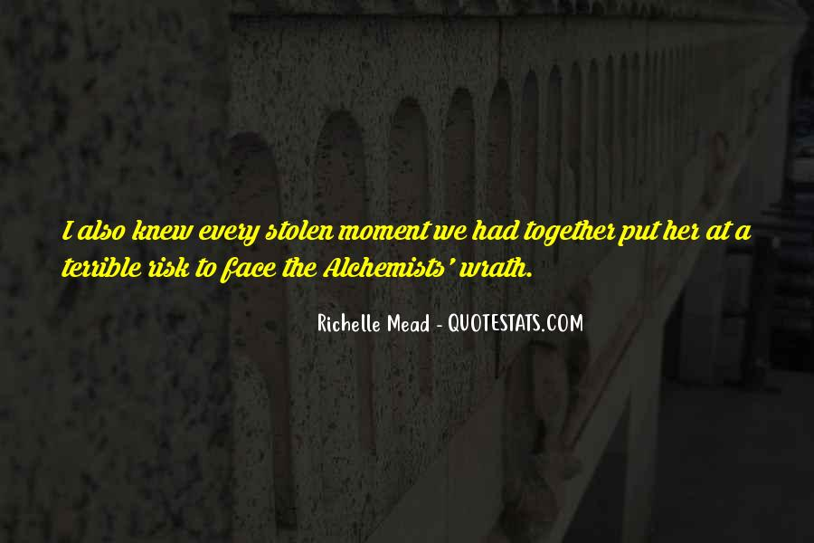 The Moment I Knew Quotes #543051