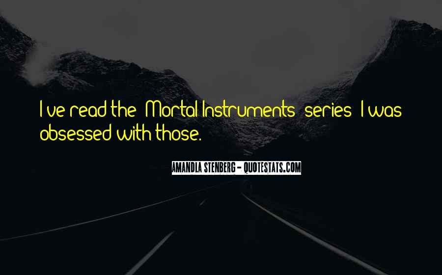 The Mortal Instruments Quotes #168221