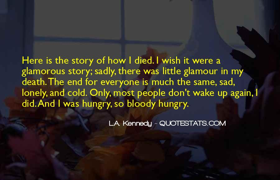 The Most Sad Quotes #136488