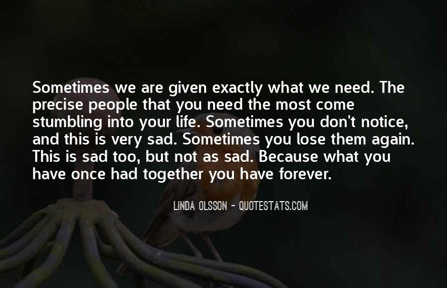 The Most Sad Quotes #455465