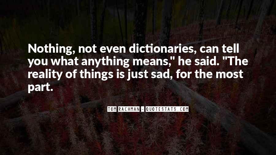 The Most Sad Quotes #520269