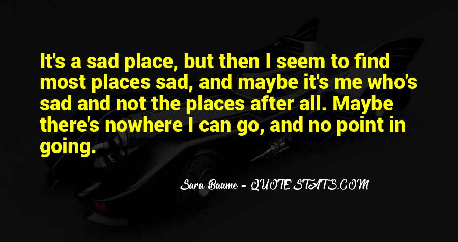 The Most Sad Quotes #992322