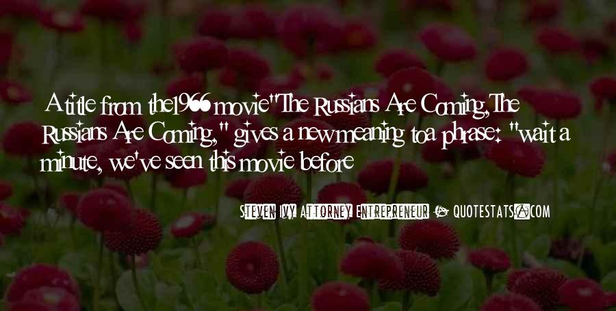 The Most Well-known Movie Quotes #4920