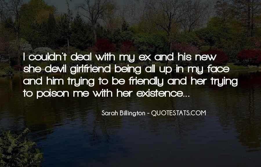 The New Girlfriend Quotes #1090958