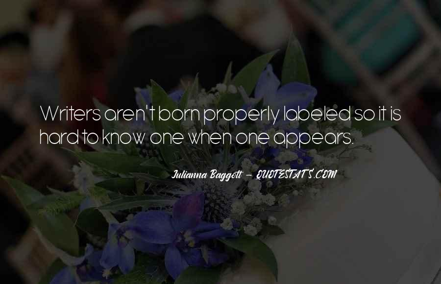 Quotes About Baggott #142788