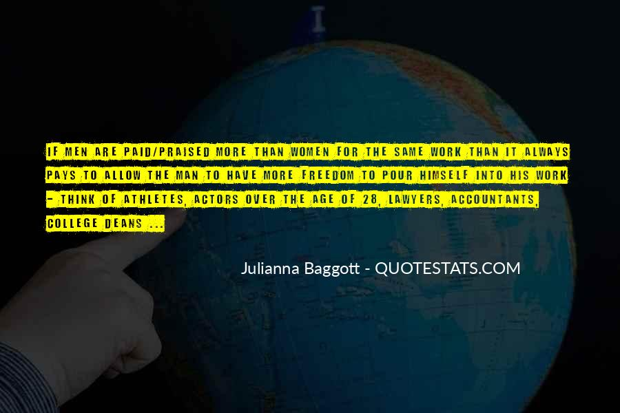 Quotes About Baggott #289547