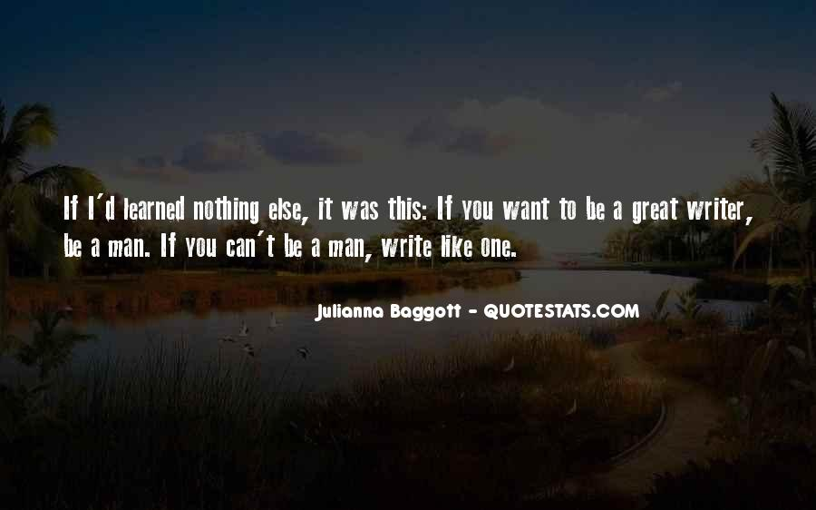 Quotes About Baggott #781950