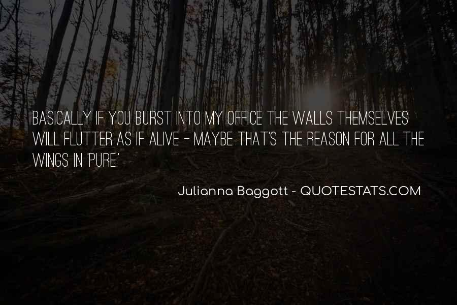 Quotes About Baggott #812700