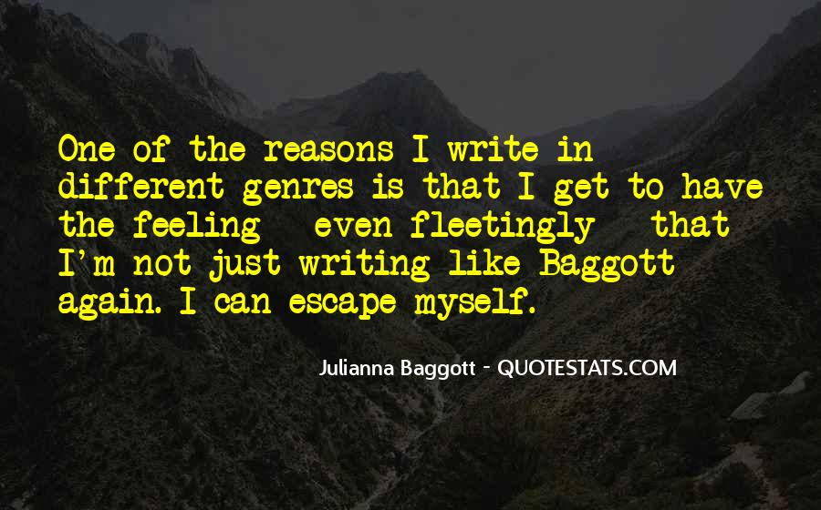 Quotes About Baggott #83885